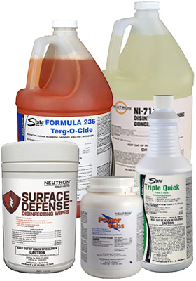 Disinfectants included on EPA's List N