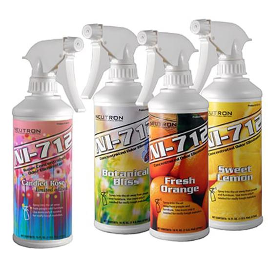 NI-712 Odor Eliminator - Fresh Orange - Pint (Qty 9 Per Case)